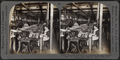 Drawing machines for combing out and straightening the fibres. Silk industry (spun silk), South Manchester, Conn., U.S.A, by Keystone View Company.png