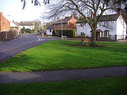 Drayton school and green 22nd Jan 2008 (2).JPG
