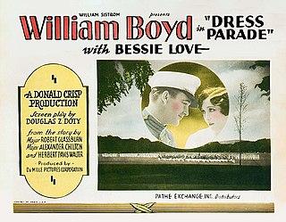 <i>Dress Parade</i> 1927 silent film by Donald Crisp