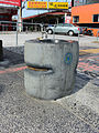 Drinking Fountain at Guolian 4th Road, Hualien City nearby New Hualien Bus Station, Hualien Bus 20150704.jpg