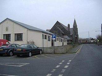 Port Erin - Methodist Church (Background) Droghadfayle Road