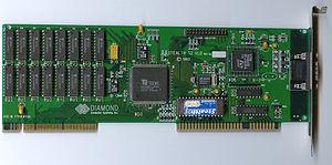 Graphics processing unit - Tseng Labs ET4000/W32p