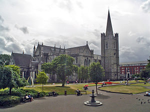 History of the Anglican Communion - St Patrick's Cathedral, Dublin in Dublin.