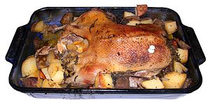 Duck-roasted