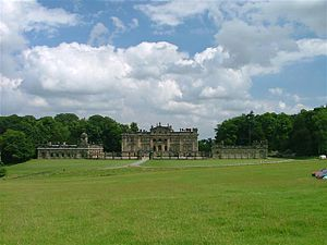 Duncombe Park - Entrance front