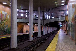 Dupont station - Image: Dupont Platform 01