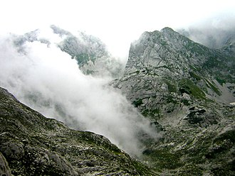 Durmitor - View of the Durmitor near Minin