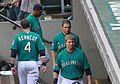 Dustin Ackley and Justin Smoak (5844766216).jpg