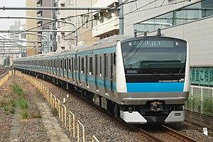 Keihin-Tōhoku Line - A Keihin-Tohoku Line E233 series EMU at Saitama-Shintoshin Station
