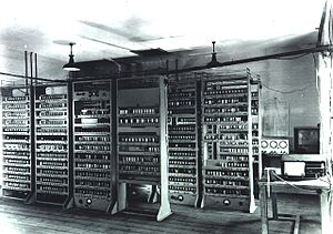 Early history of video games - The Electronic Delay Storage Automatic Calculator in 1948, which ran OXO