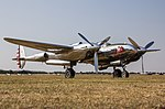 EGSU - Lockheed P-38 Lightning - N25Y (29015617627).jpg