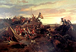 EL Lami - Storming of redoubt 10 during the Siege of Yorktown (1840)