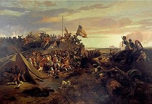 EL Lami - Storming of redoubt 10 during the Siege of Yorktown (1840).jpg