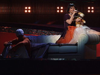 Moldova in the Eurovision Song Contest - Image: ESC 2008 Moldova Geta Burlacu, 1st semifinal