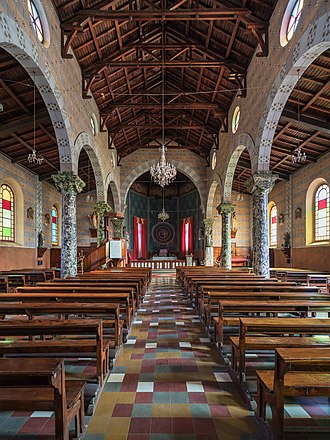Ethiopian Catholic Archeparchy of Addis Abeba - St. Mary's Nativity Cathedral in Addis Ababa, interior