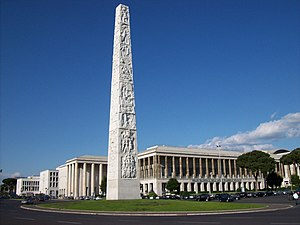 EUR, Rome - Piazza Guglielmo Marconi