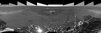 Eagle (Meridiani Planum crater) - Eagle Crater