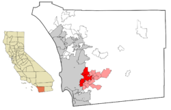 East County cities