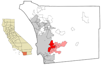 East County, San Diego - Image: East County San Diego