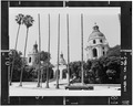 East elevation - Pasadena City Hall, 100 North Garfield Avenue, Pasadena, Los Angeles County, CA HABS CAL,19-PASA,2-7.tif