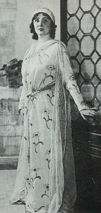 O mio babbino caro - Florence Easton as Lauretta at the world premiere of Gianni Schicchi, 14 December 1918