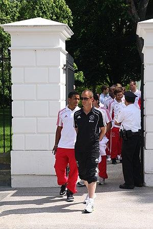 Frank de Boer - De Boer in 2011 with Ajax