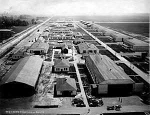 Eberts Field - Eberts Field Arkansas Station Area, c. 1918