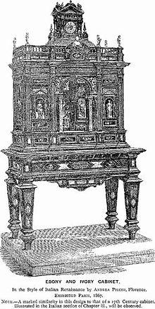style renaissance wikip dia. Black Bedroom Furniture Sets. Home Design Ideas