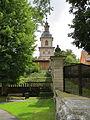 Ebrach, BA - Klostermauer m Marienturm v N.JPG