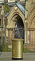 Ed Clancy's gold postbox in Huddersfield (2).jpg