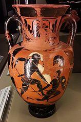 Amfora z walczącymi hoplitami
