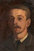 Edward Stott, Autorretrato, sin fecha.jpg