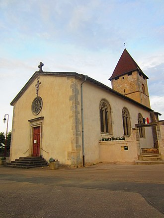Andilly, Meurthe-et-Moselle - The church in Andilly