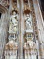Eglise Saint-Maclou, Rouen. St Mathieu et St Luc, porche ouest.jpg