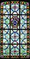 Eglise Saint-Samson, Saint-Samson sur Rance, Côtes d'Armor, France, baie 5, blason pape IMGP0137.jpg