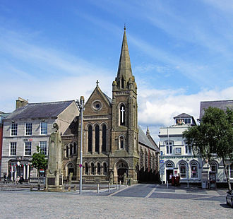 Presbyterian Church of Wales - Castle Square Presbyterian Church, Caernarfon