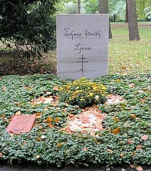 Waldfriedhof Zehlendorf - Tatjana Gsovsky