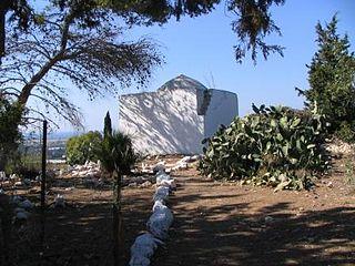 Ayn Ghazal Village in Haifa, Mandatory Palestine