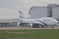 4X-ELD - B744 - El Al