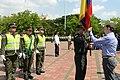El Gobierno Nacional hace entrega de mil uniformados a la Policia Metropolitana de Cali, en cumplimiento de la politica de seguridad ciudadana (8342502962).jpg