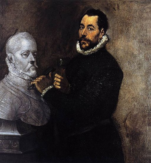 El Greco - Portrait of a Sculptor - WGA10449