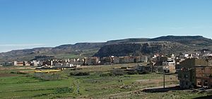 El Hajeb - Panoramic view of El Hajeb