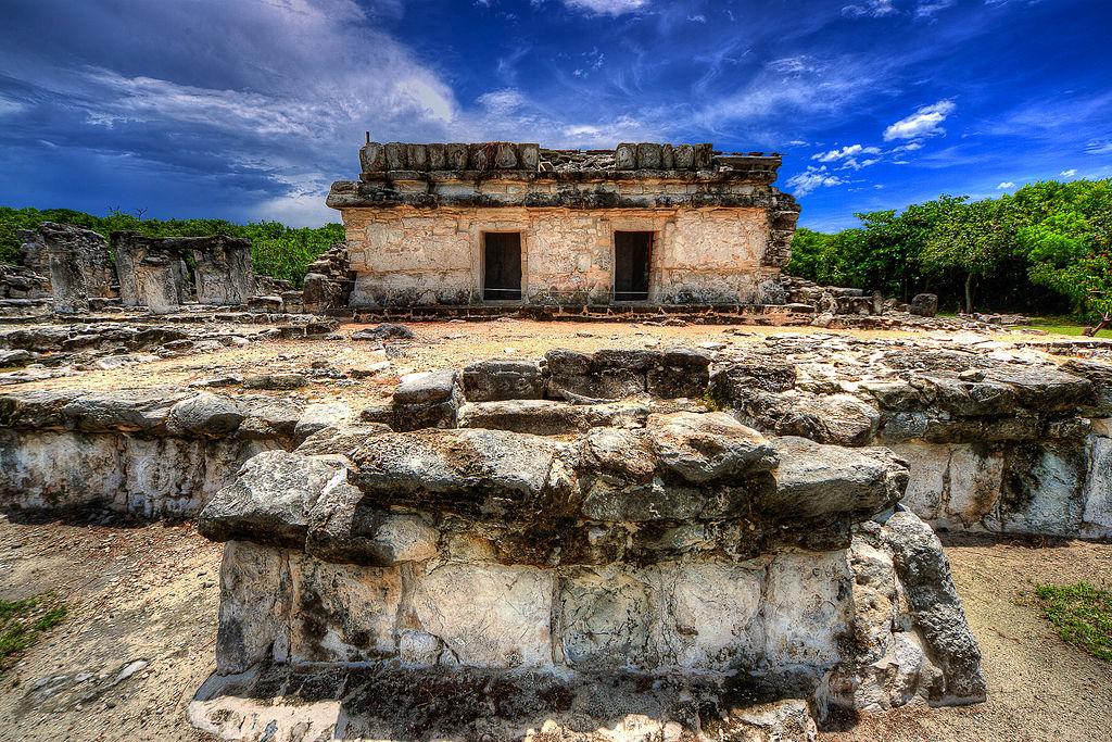 El Rey Zona Arqueologica, Cancun, Mexico RFDZ1265