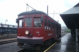 Electric City Trolley Museum - Image: Electric City Trolley Museum 76