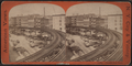 Elevated rail road, from Robert N. Dennis collection of stereoscopic views.png