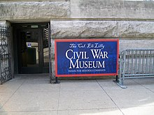 Eli Lilly Civil War Museum, Indianapolis, Indiana.jpg