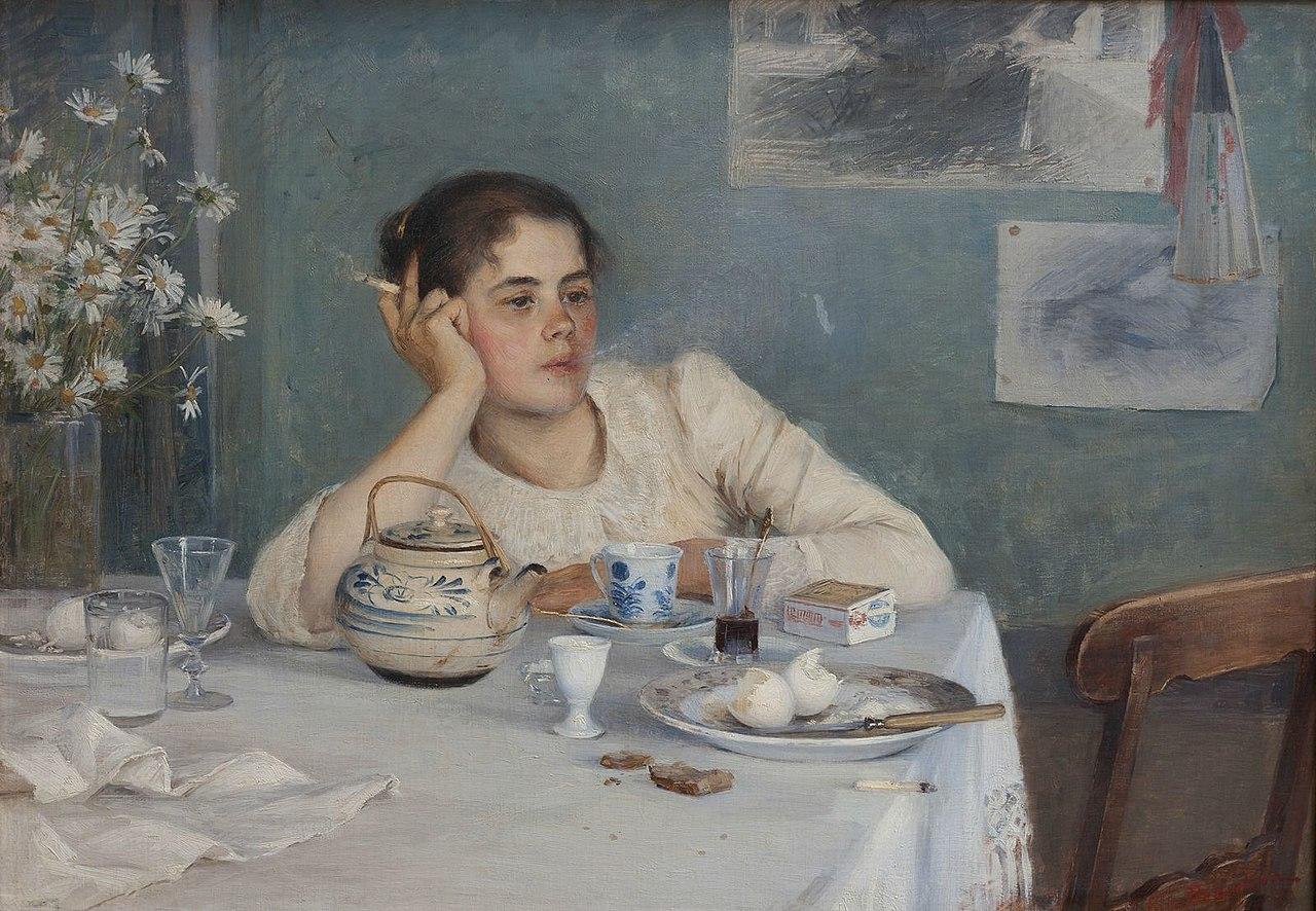 Элин Дэниэлсон-Гамбоги - После завтрака.jpg