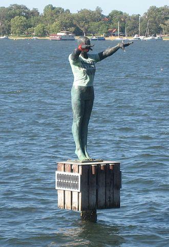 Crawley, Western Australia - Statue Eliza