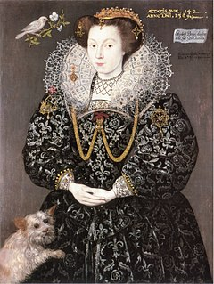 Elizabeth Brydges Maid of Honour to Elizabeth I of England