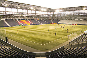 Sport in Austria - Red Bull Arena, home of FC Red Bull Salzburg.